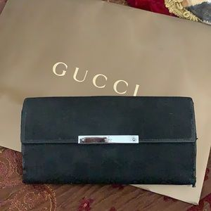 Authentic Gucci long GG WALLET